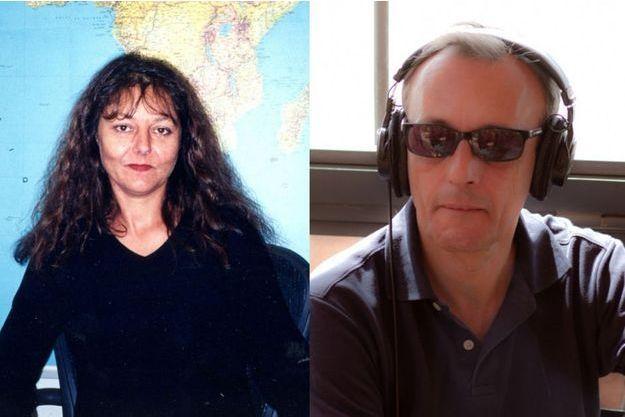 Ghislaine Dupont et Claude Verlon, enlevés puis exécutés le 2 novembre 2013 au Mali.