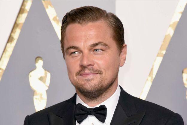 Leonardo DiCaprio à la cérémonie des Oscars 2016