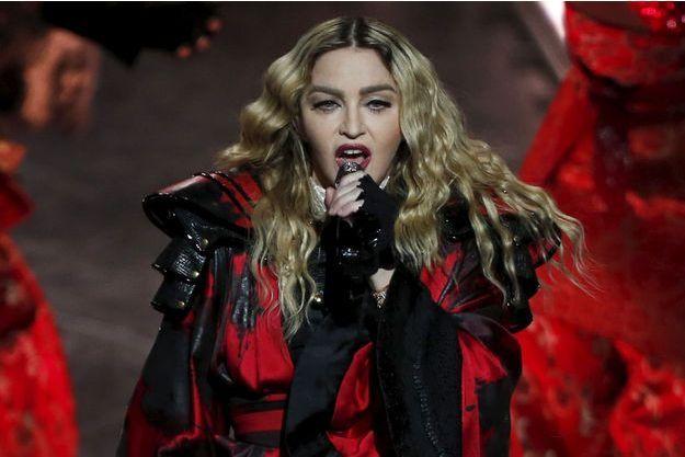 Madonna, 20 février 2016.