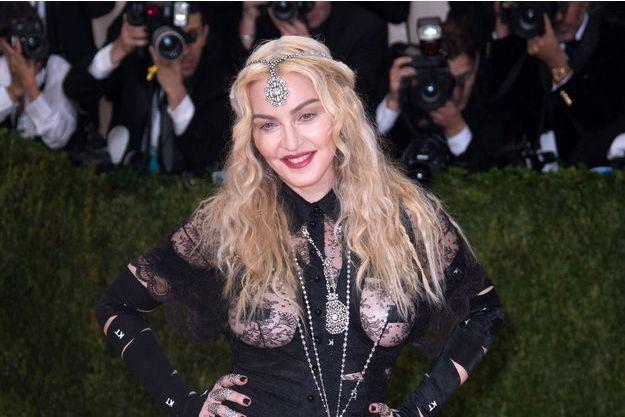 Madonna au Gala du MET à New York