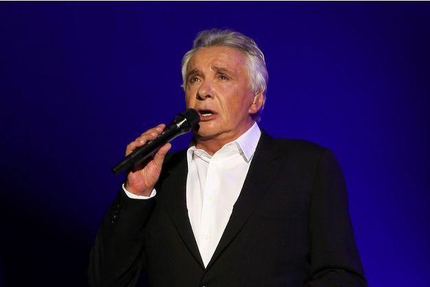 Michel Sardou à L'Olympia à Paris le 8 juin 2013.