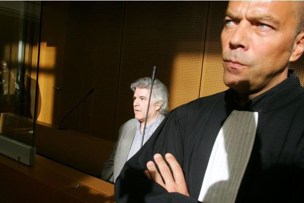 Pierre Bodein lors de son procès en appel en avril 2007.