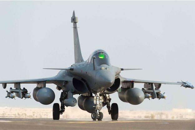 Un Rafale de l'armée française s'apprête à décoller le 19 septembre 2014.