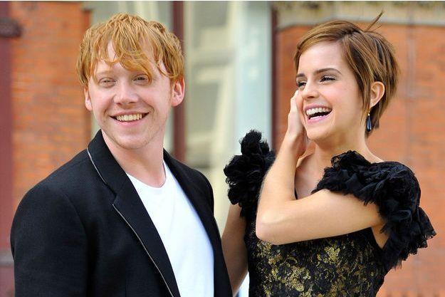 Rupert Grint et Emma Watson