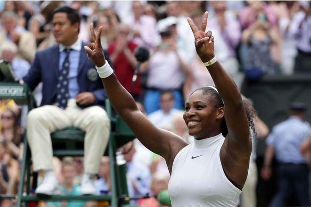Serena Williams vainqueur du tournoi de Wimbledon 2016