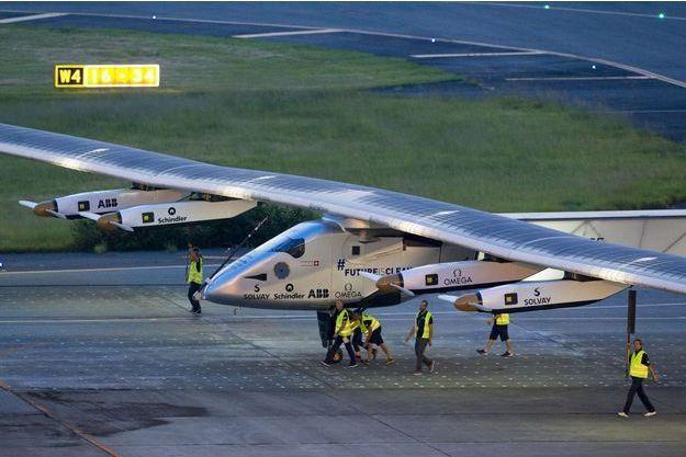 L'avion solaire Solar Impulse 2.