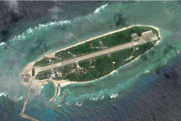 L'île de Taiping, sur Google Earth