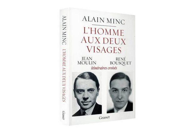 «L'homme aux deux visages» D'Alain Minc Ed. Grasset  192 pages, 17 euros.