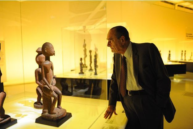 """Résultat de recherche d'images pour """"jacques chirac art africain"""""""
