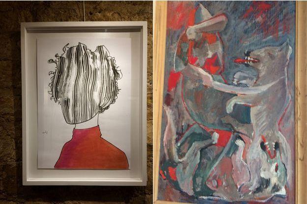 Expositions d'oeuvres à la Galerie 89