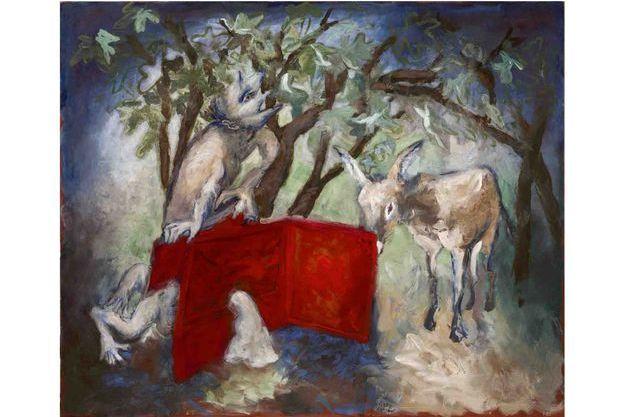 """Le tableau """"Le Sous-main et l'âne"""""""