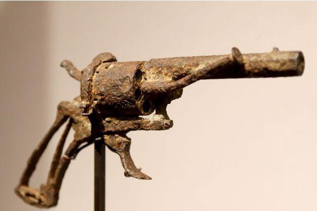 Le revolver qu'aurait utilisé Vincent Van Gogh.