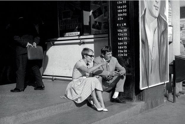 Sur le tournage d'« A bout de souffle », Raymond Cauchetier, 1959.