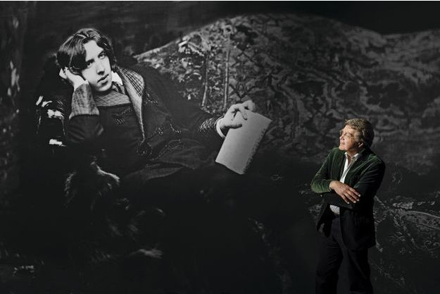 Merlin Holland, petit-fils d'Oscar Wilde, au Petit Palais le 15 septembre.