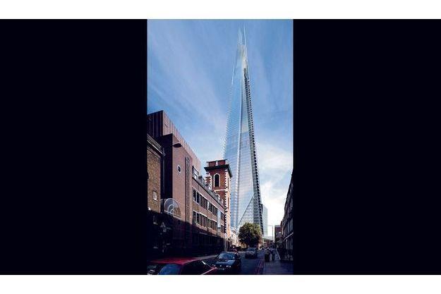 Renzo Piano a imaginé un nouveau Londres.