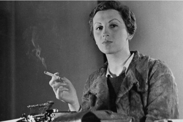 Portrait de Gerda Taro pris à Paris en 1936.