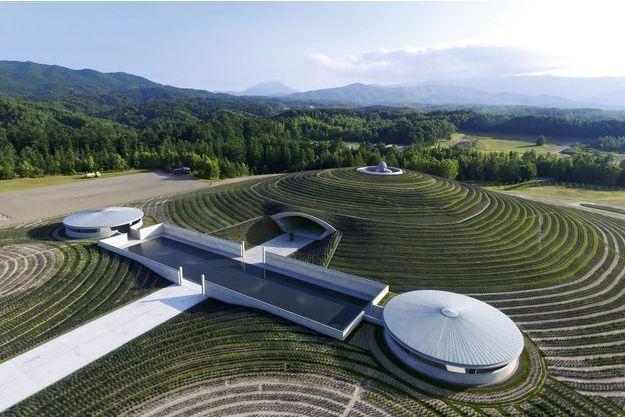 La colline du bouddha, 2012-2015, Sapporo, Hokkaido,Japon.