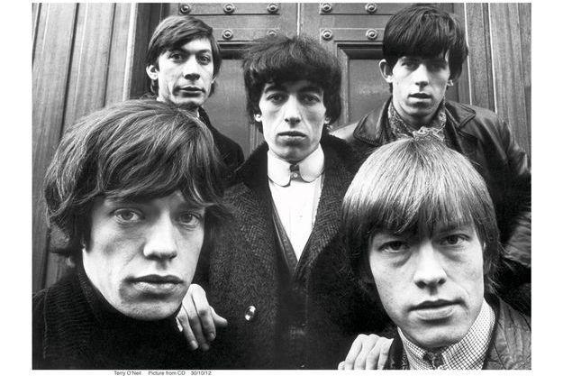 Les Stones à Londres, en 1963.