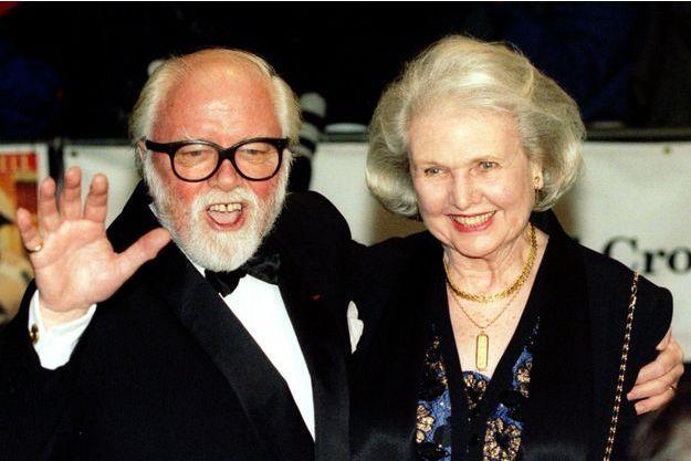 Richard Attenborough et son épouse Sheila Sim en 1997.