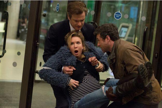 "Colin Firth, Renée Zellweger et Patrick Dempsey dans ""Bridget Jones Baby"""
