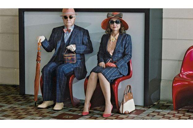 au classement du salaire des acteurs du «Figaro»: André Dussolier, 42e avec 400 000 euros pour un film. Catherine Frot, 3e avec 2,235 millions d'euros pour trois films.