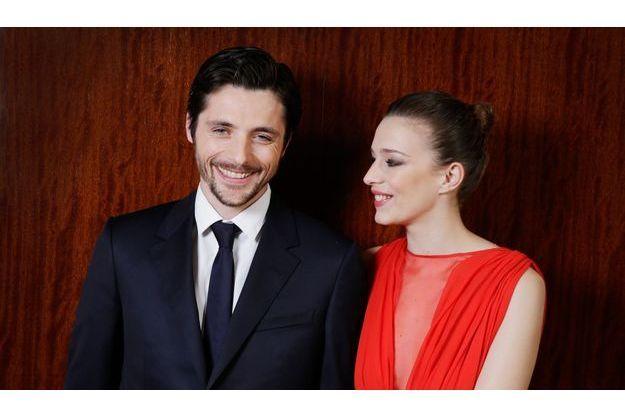 Céline Sallette et Raphaël Personnaz.