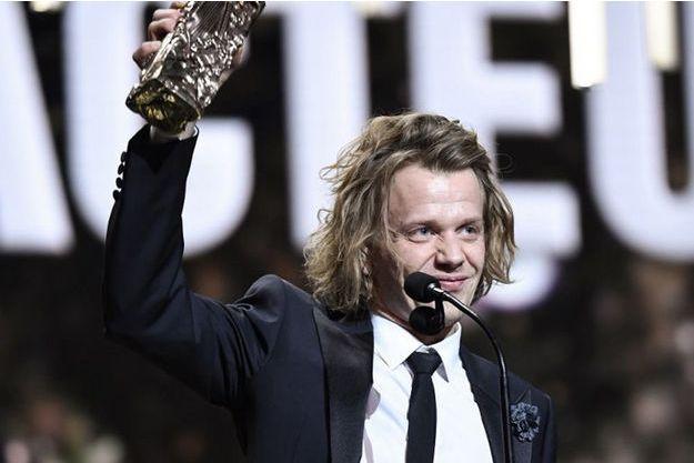 """Alex Lutz, récompensé du César du meilleur acteur 2019 pour """"Guy""""."""