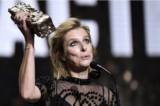Karin Viard a été récompensée du César du meilleur second rôle féminin.