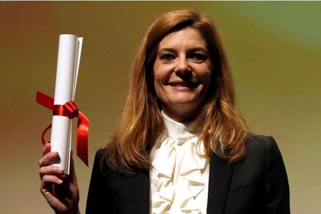 """Magnifique dans """"Chambre 212"""" de Christophe Honoré, Chiara Mastroianni a été récompensée du prix d'interprétation de la section Un Certain Regard."""