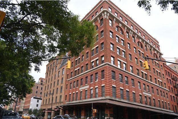 Les bureaux de The Weinstein Company à New York.