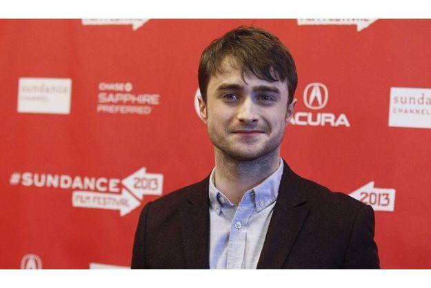 """Daniel Radcliffe à la première de """"Kill Your Darlings"""" à Sundance."""