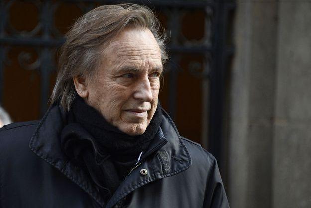 Alexandre Arcady jeudi, lors de l'hommage rendu à Roger Hanin.
