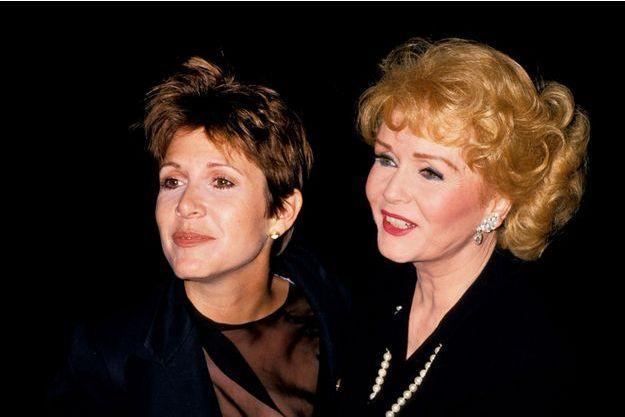Carrie Fisher et Debbie Reynolds.