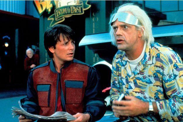 """Christopher Lloyd, alias """"Doc"""" dans """"Retour vers le futur"""" était doublé par Pierre Hatet."""