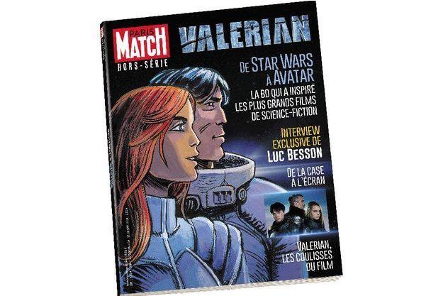 """La couverture du hors-série """"Valérian, de la case à l'écran"""""""