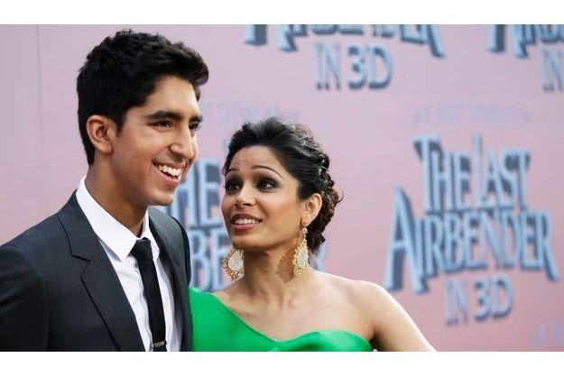 Dev Patel et sa petite-amie Freida Pinto.