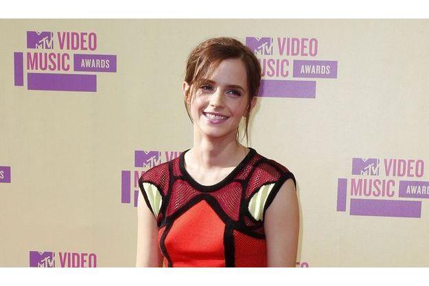 Emma Watson lors de la promotion de son film «Perks of Being a wallflower»