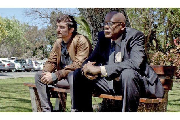 "Orlando Bloom et Forest Whitaker dans ""Zulu""."