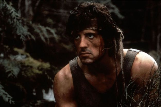 "Sylvester Stallone dans ""Rambo : First Blood""."