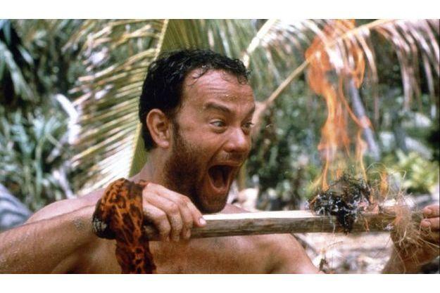 """Tom Hanks dans """"Seul au monde""""."""