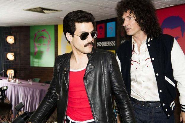 """Rami Malek dans """"Bohemian Rhapsody"""" pourrait rafler le Golden Globe du meilleur acteur dans un rôle dramatique."""