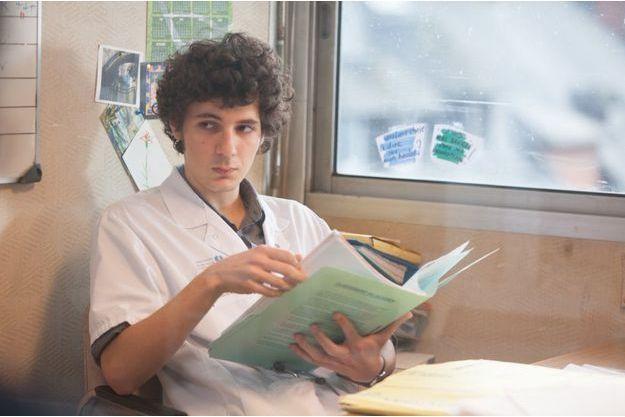 """Vincent Lacoste dans """"Hippocrate"""" de Thomas Lilti."""