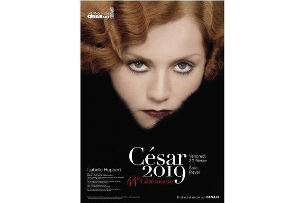 La sublime affiche des César 2019.