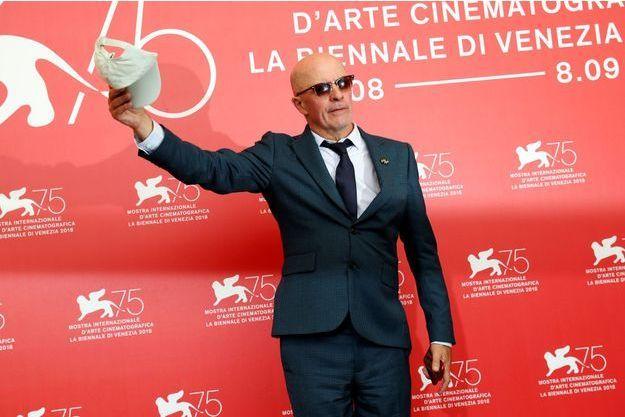 Jacques Audiard lors de la 75e Mostra de Venise.
