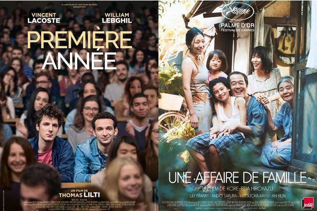 """""""Première année"""" et """"Une affaire de famille"""", deux films distribués par Le Pacte."""