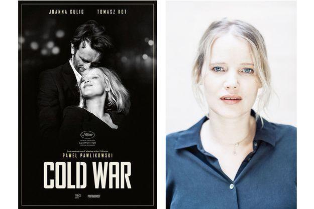 "L'affiche de ""Cold War"" et Joanna Kulig"