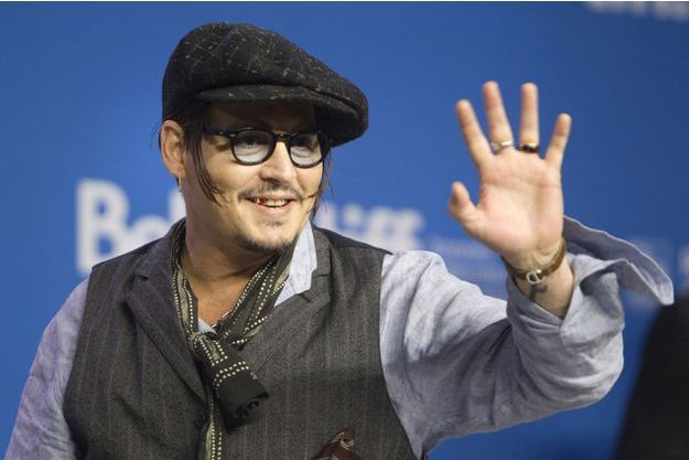 Johnny Depp lors de la conférence de presse à Toronto.