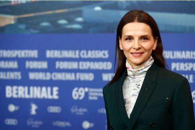 Juliette Binoche lors du 69e Festival de Berlin.