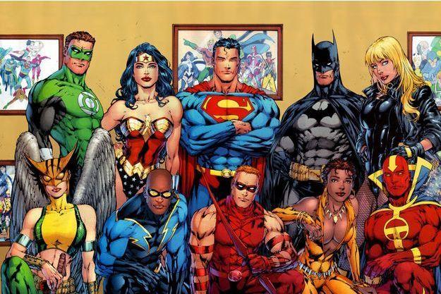 La Justice League réunie en 2007