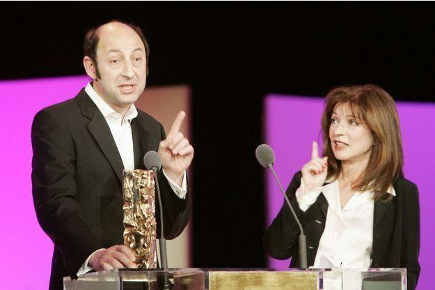 Kad Merad en février 2007, lorsqu'il reçoit son César pour le meilleur second rôle masculin